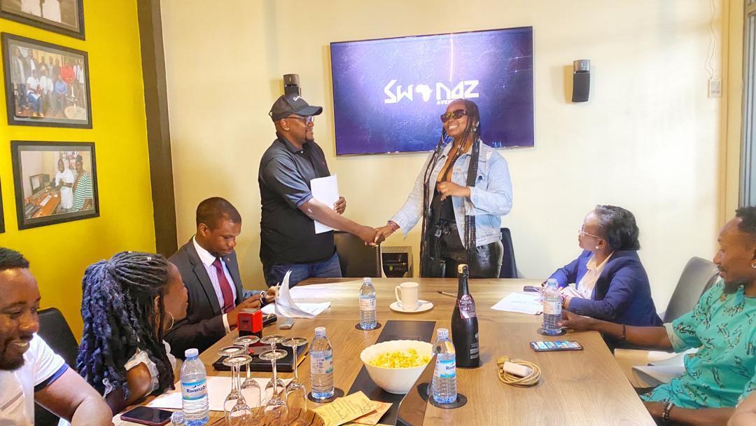 Swangz Avenue renews songstress Winnie Nwagi's contract 1 MUGIBSON WRITES