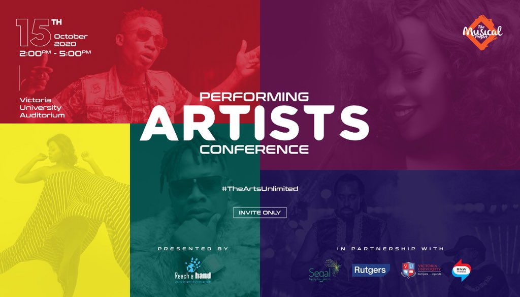 Musicians, Comedians, Producers and other creatives attend first-ever Reach A Hand Uganda organized Performing Artists Conference 1 MUGIBSON WRITES