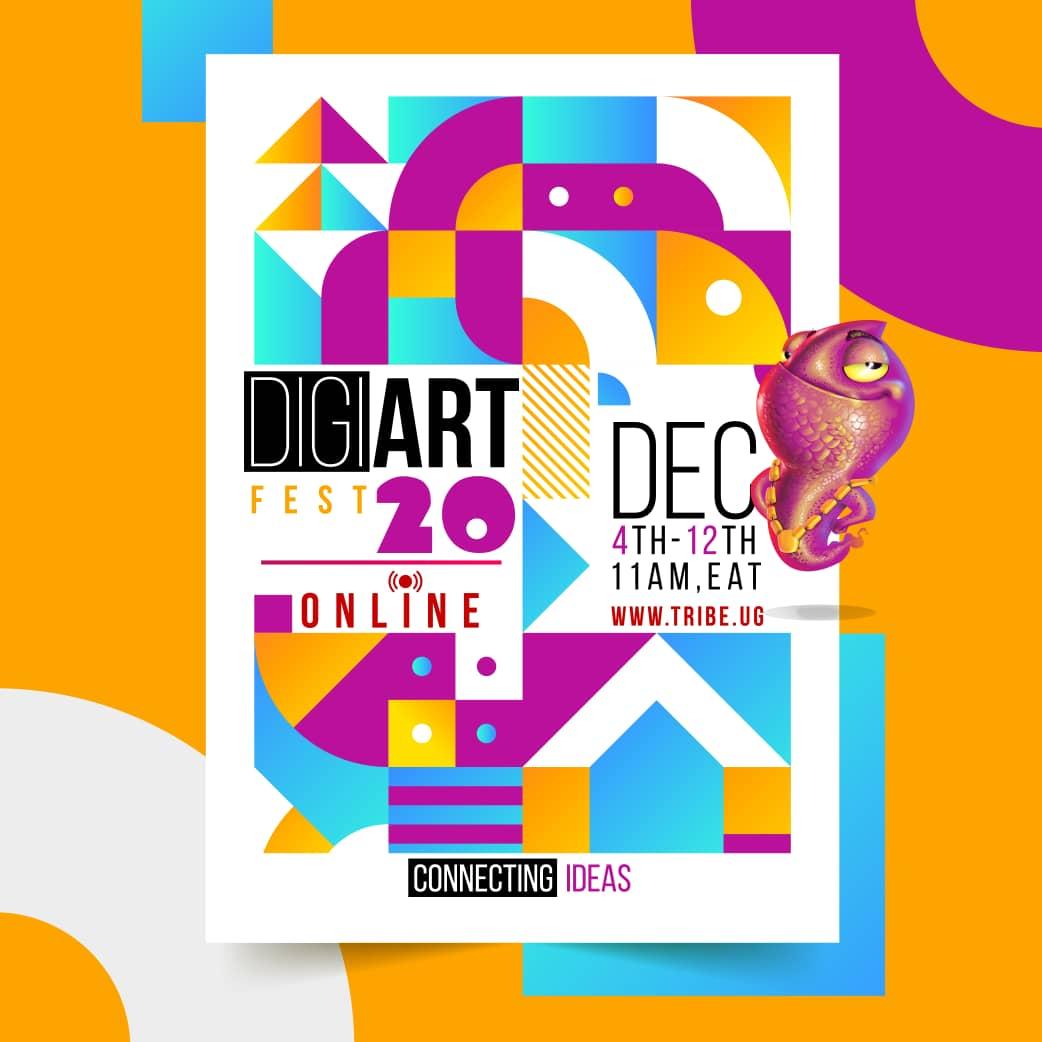 Tribe Uganda's Comicon event Digi Art Fest goes Digital for 2020 Edition 1 MUGIBSON WRITES