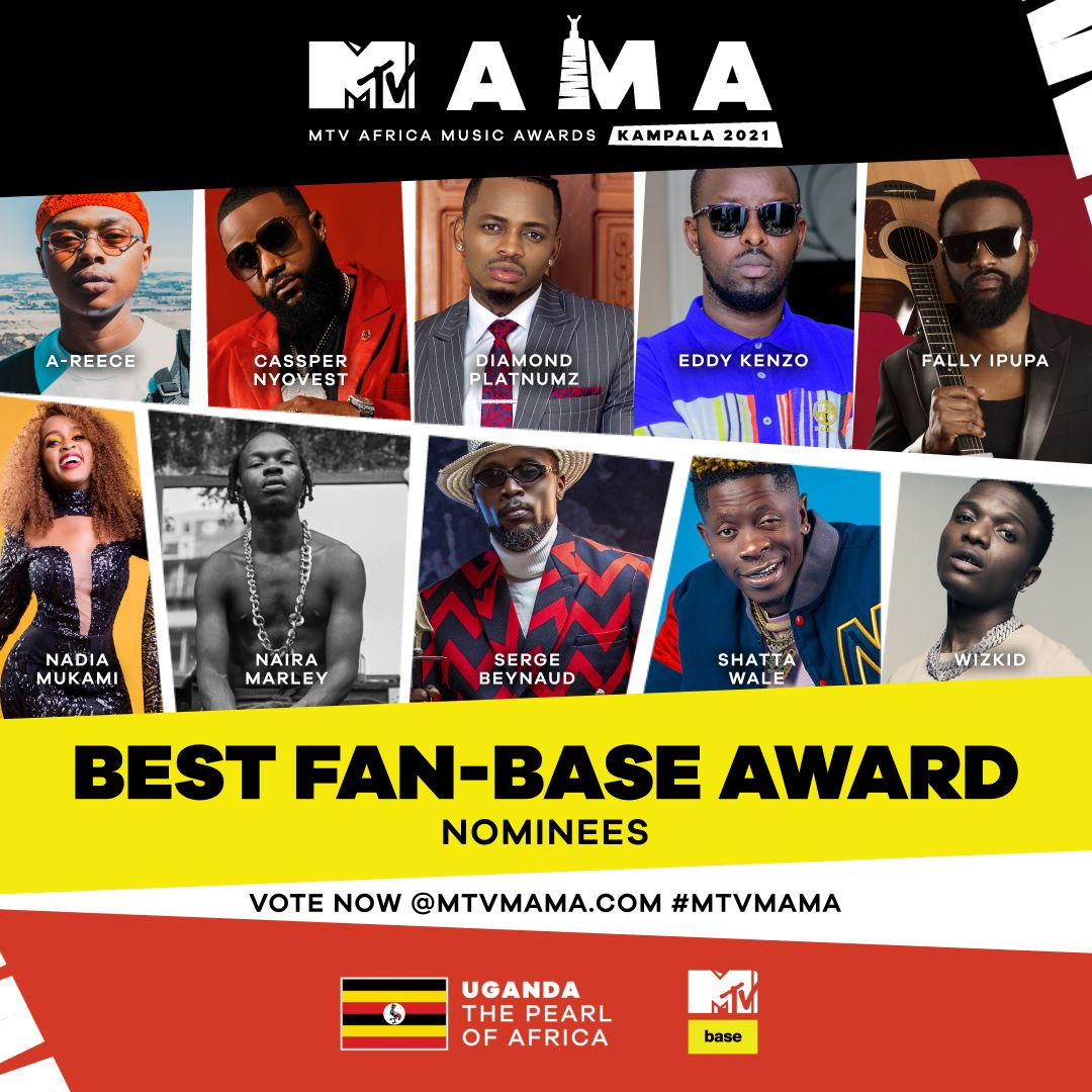 Eddy Kenzo, B2C, Simi, The Weeknd, & more land nods as MTV Africa Music Awards announce final wave of nominations 1 MUGIBSON WRITES