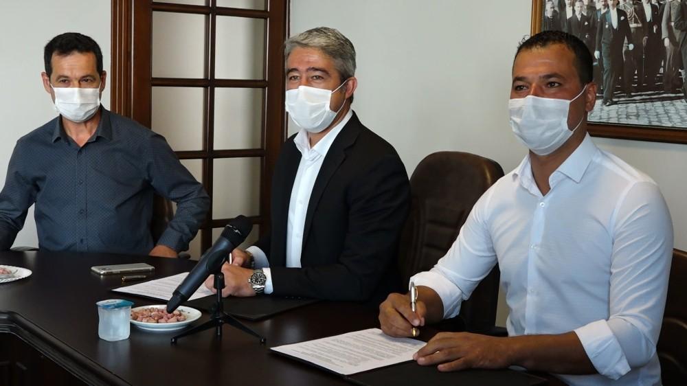 Marmaris'te imzalar tarımsal kalkınma için atıldı