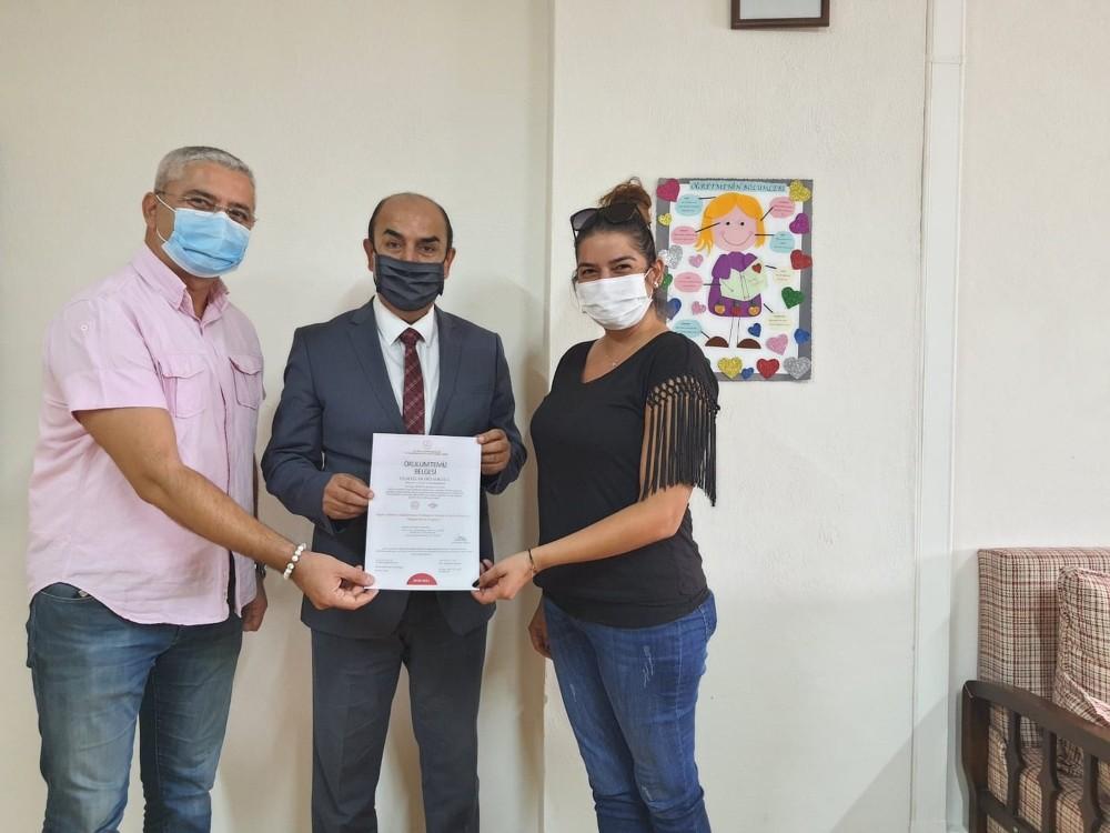 Datça'da 11 okula 'Okulum temiz' sertifikası