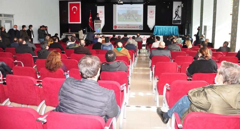 Türkiye'de ilk olacak proje Milas'ta hayata geçiriliyor