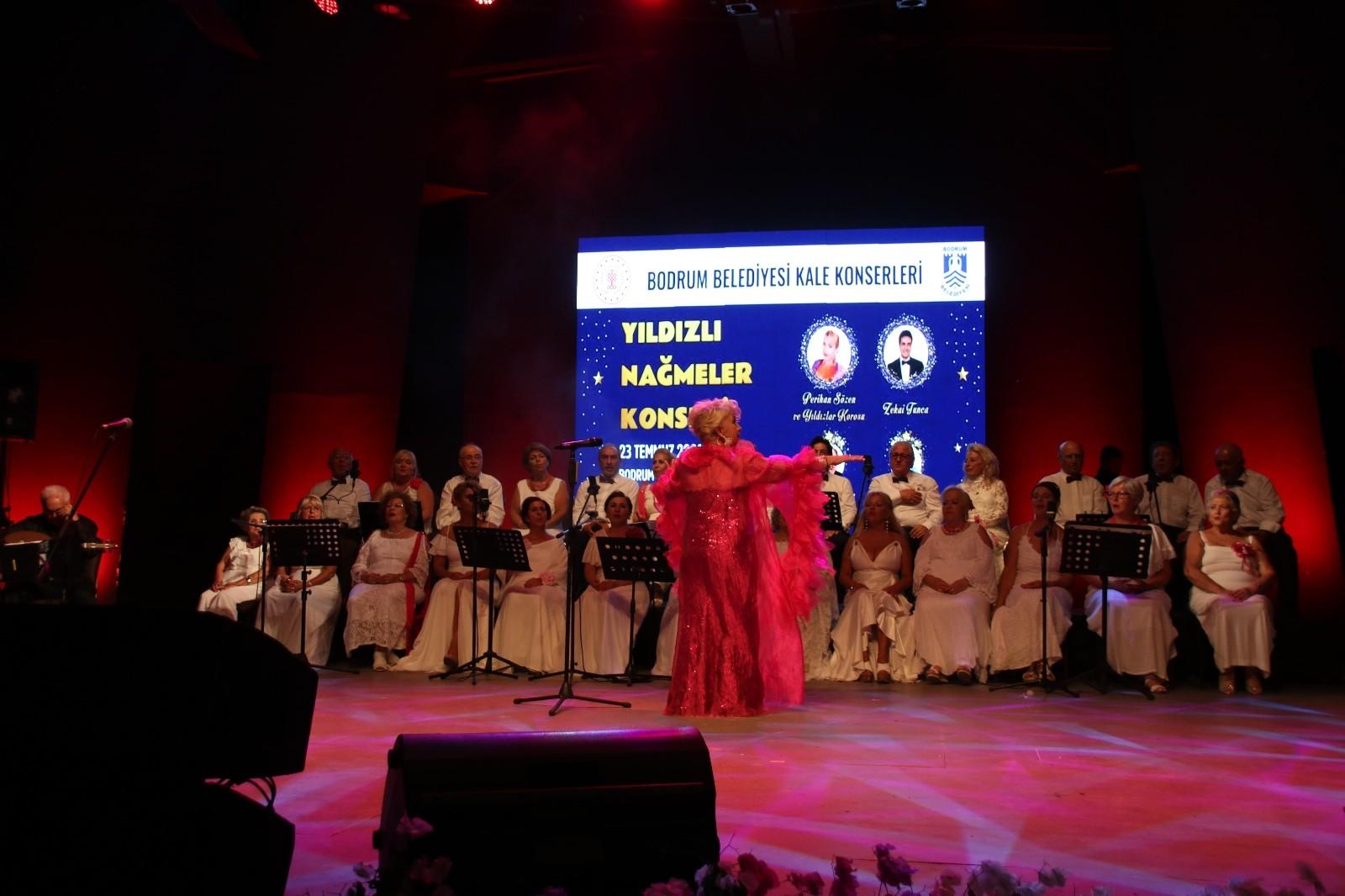 Bodrum Kalesi'nde Türk Sanat Müziği rüzgarın esti