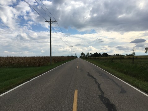 On my way to the Brosey's farm in Oxford, OH. Photos taken Sept. 30, 2016.