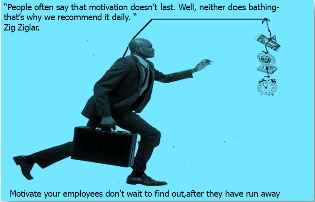 How do you turn on your employees?