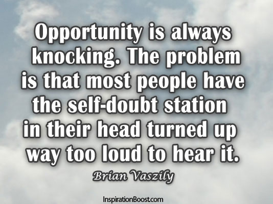 Inspiring quotes about opportunity