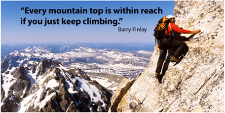 Climbing the Mountain of Success