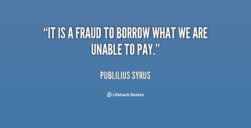 Inspiring Quotes about Fraud