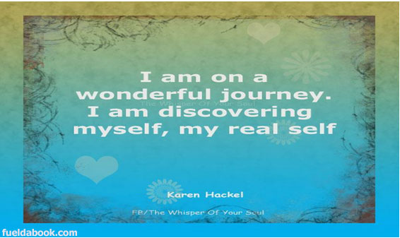 What a wonderful journey?
