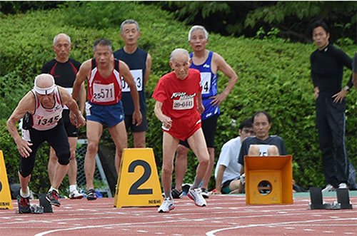 103-Year-Old Sprinter Challenges Usain Bolt