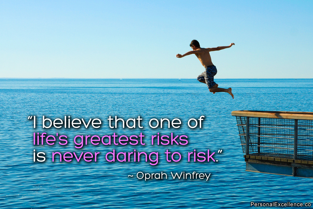 Inspiring quotes about risk