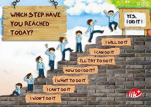 Which step in your life journey are you on?