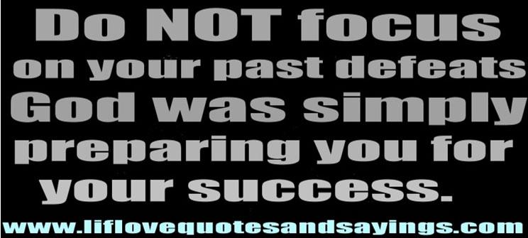 Focus your effort on success