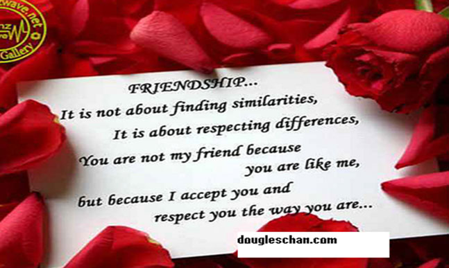 Friendship for success in life