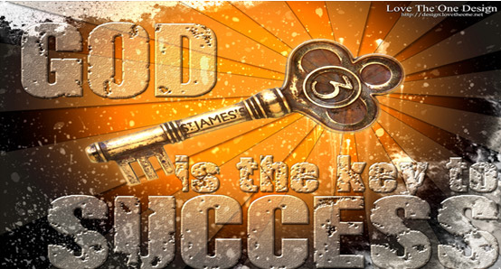 Focusing on God is the key to success