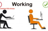 Good posture for a pain free back