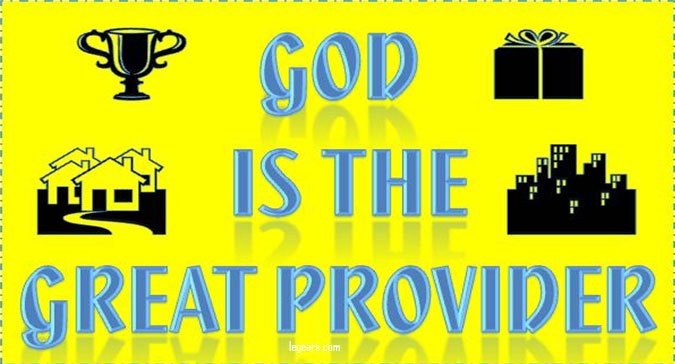 Lord you are my provider