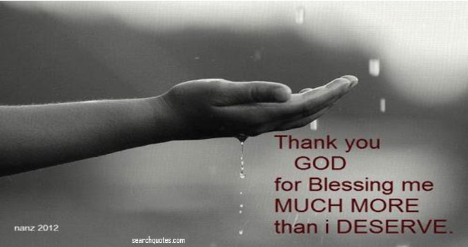 Lord you have always given me the best