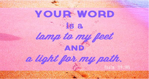 Your word surpasses everything