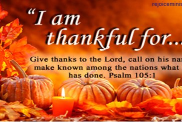 Thank you lord for all my gifts