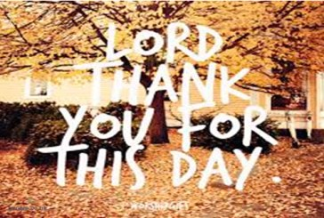 Lord thank you for my journey