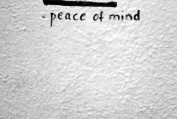Help other people if you want peace of mind