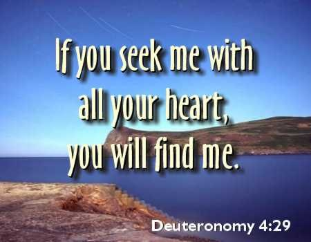 Seek the Lord when you can