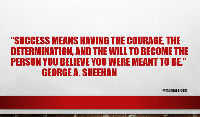 Inspirational quote on success