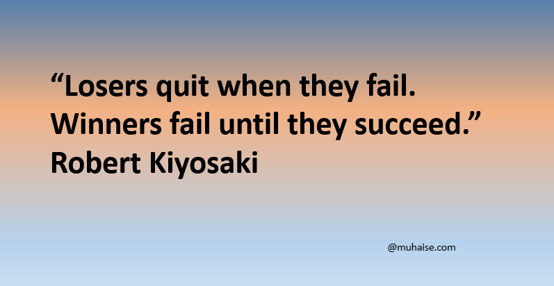 Failure is not the end in life