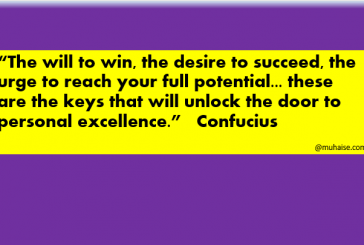 The desire to succeed