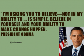 Belief and change