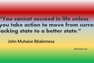 Success requires taking action