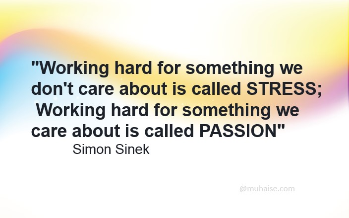 Are you working hard?