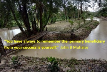 You are the primary beneficiary of your success