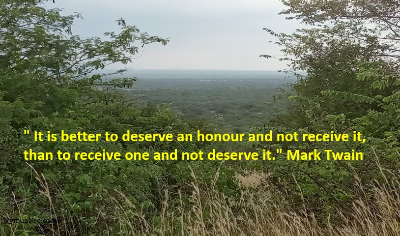 Do you deserve the honour?