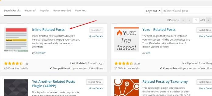 Cara Membuat Related Post Otomatis di Tengah Postingan blog WordPress