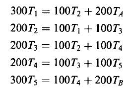 Aplikasi kalkulasi eliminasi gauss pada kasus perpindahan