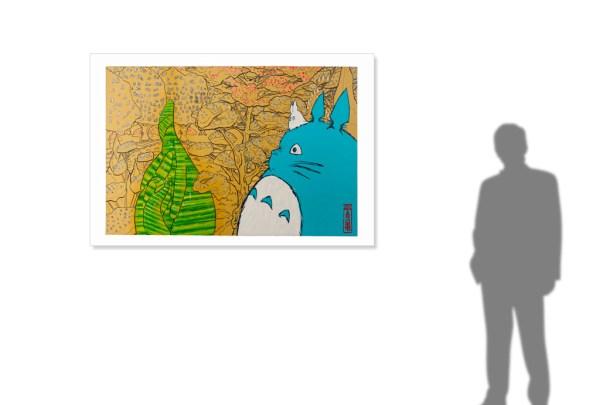 Ghibli blows in Sarajevo -size reference-