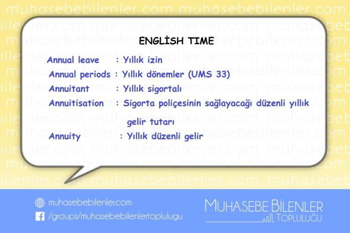 english time yillik