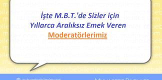 MBT Moderatörleri