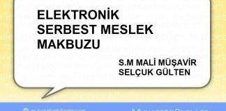 ELEKTRONİK SERBEST MESLEK MAKBUZU