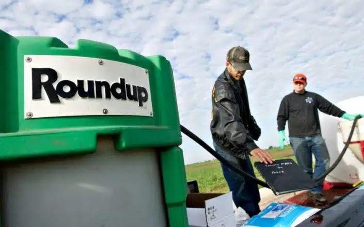 Entre las sustancias se encuentra el Roundup, también conocido como Glifosato.