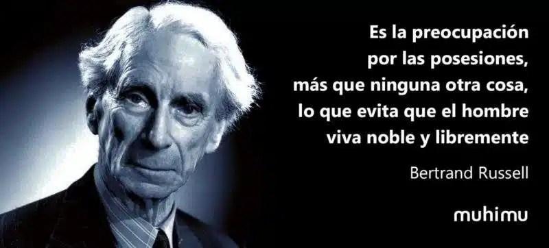 10 Frases Memorables De Bertrand Russell Acerca De La Vida Y