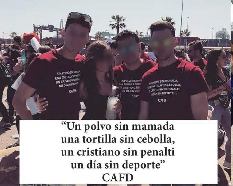 Camisetas De Fiestas Universitarias De Valencia Desde El
