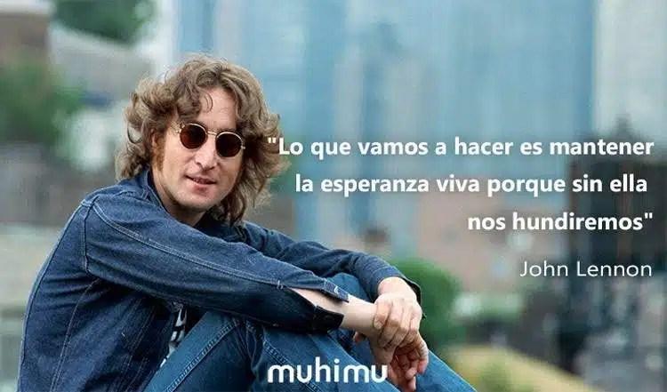 15 Frases De John Lennon El Cantante Del Amor Y La No Violencia