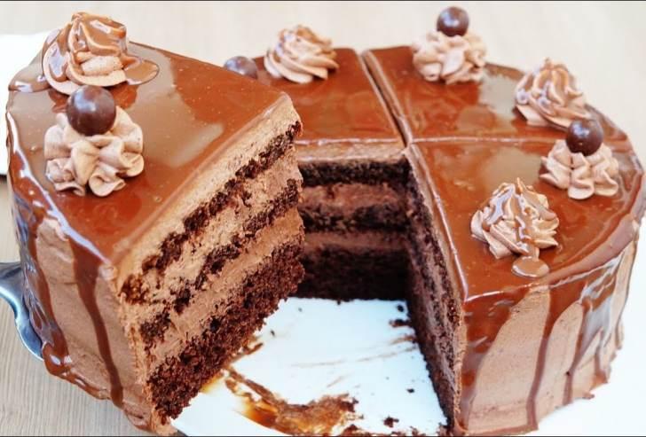 كيفية عمل فطيرة شوكولاتة بسيطة