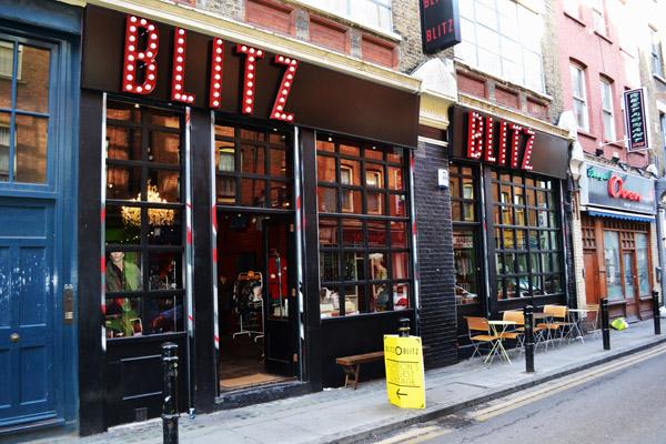 Blitz Vintage Department Store  London Calling