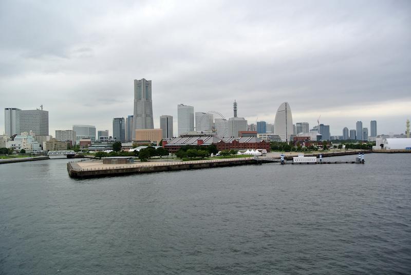 Yokohama, helaas geen Tokio!