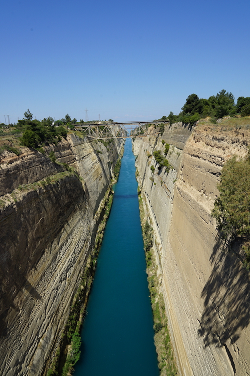 Athene   Corinth kanaal